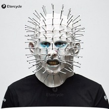 Pinhead Masks Scary Movie Hellraiser Cosplay Halloween Latex Adult Mask