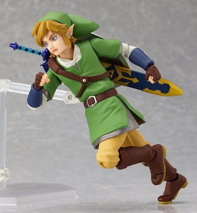 153 The Legend of Zelda Link Figma Action Figure Toy Doll 19cm 7″