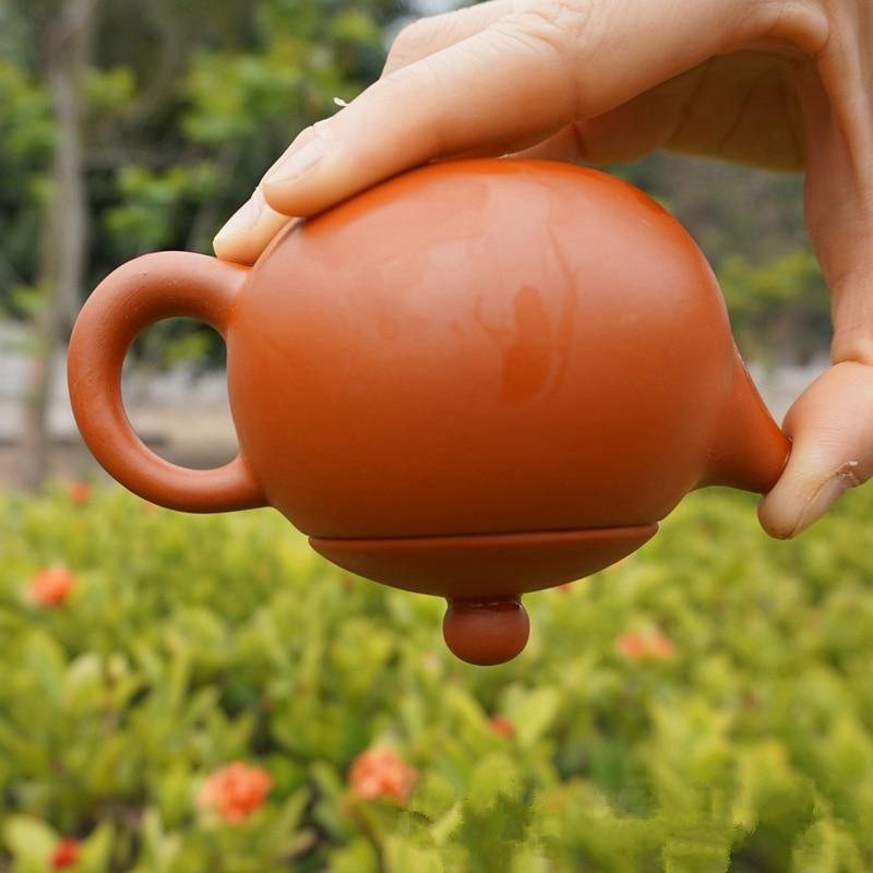 150ML Tea Beauty New Purple Clay Zisha Ceramics Arts xishi Teapot Porcelain yixing Clay China Teaset tea pot Filter Teapot