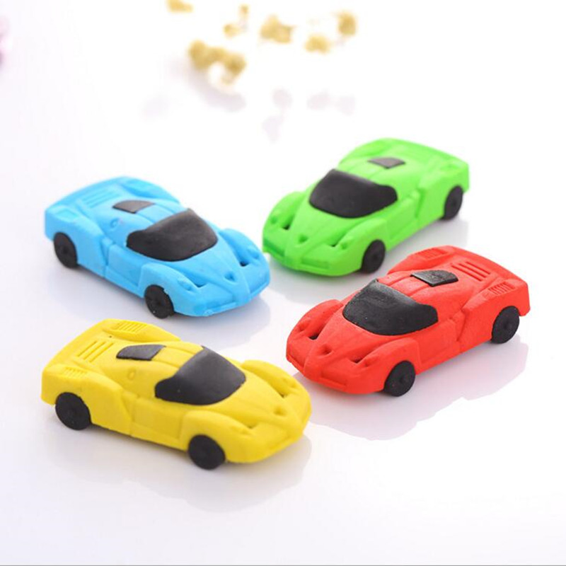 32pcs/lot Cute Small Car Styling Designer Funny Students' Gift Kids's Puzzle Toy Office School Stationery