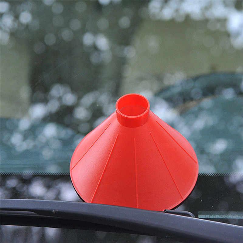 1 ชิ้นรถ Wipers กระจกรถยนต์อุปกรณ์เสริมกรวยรูปกระจกน้ำแข็ง Scraper หิมะพลั่วเครื่องมือสำหรับ Mazda 3 2012 Toyota 4