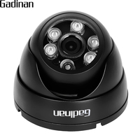GADINAN H 265 H 264 HI3516CV300 F22 Security Camera IP 1080P 2MP IP Camera Metal Dome