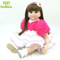 Adoras doll reborn baby Alive bebes reborn menino Silicone Reborn Babies Reborn 60 cm Dolls for Girls Boys Doll Baby Real