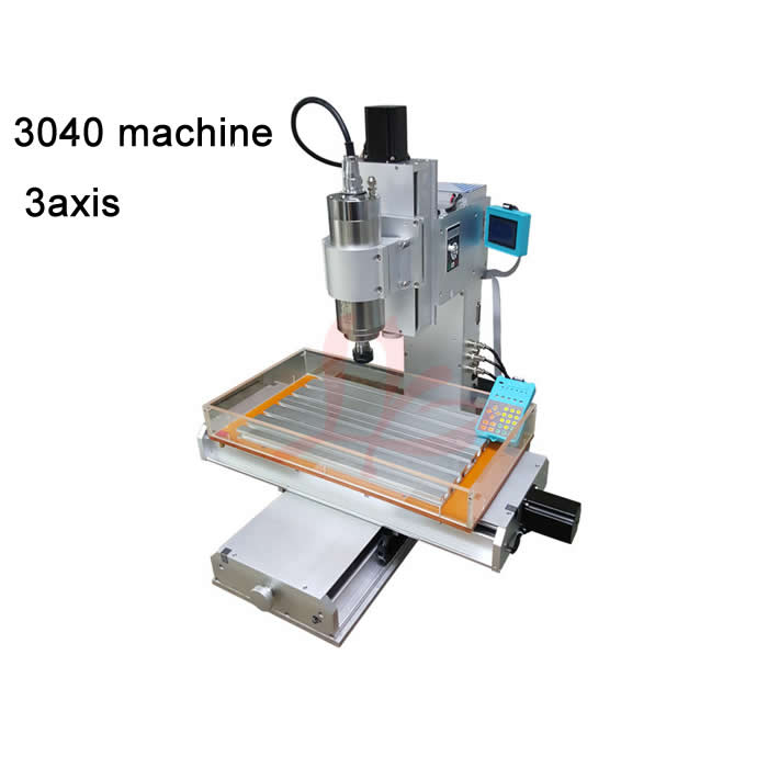 high performance pillar type 3040 cnc milling  machine 3axis with 1500W water-cooled frequency spindle factory supply cnc machine parts high performance general purpose inverter 0 4kw 5 5kw 220v vector frequency converters modular machine