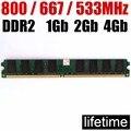 4gb DDR2 RAM 2Gb ddr2 800 667 533 Mhz - 1Gb 2 G 4 Gb / for AMD For Intel memoria ddr2 2Gb ram 800Mhz ddr 2 memory PC2 6400