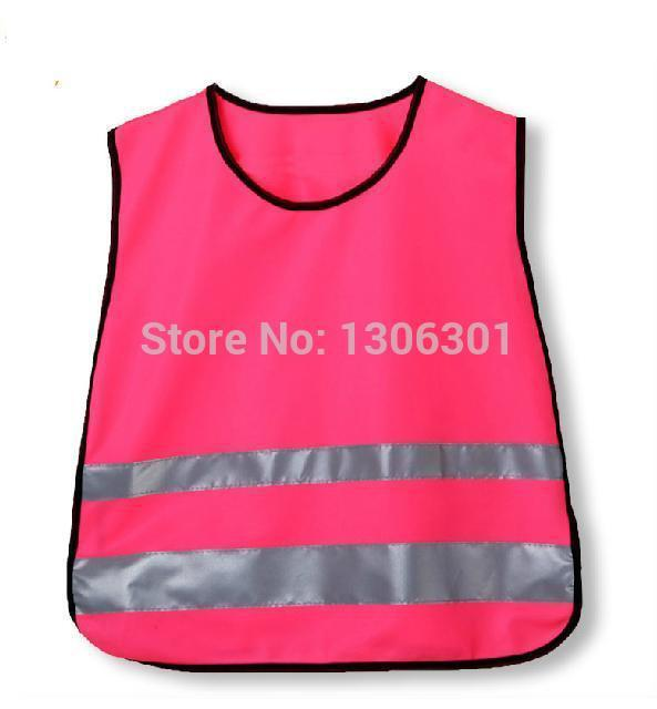 Aluno de advertência reflexivo colete colete reflexivo roupas de segurança de criança de escola campus de proteção colete