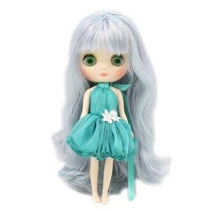 Image 4 - Oferta especial blyth médio boneca moda 20cm comum & corpo normal adequado para diy frete grátis presente brinquedo