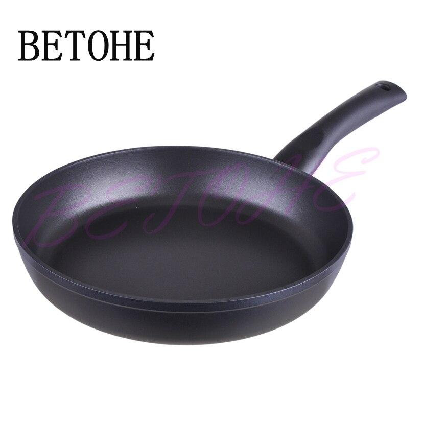 BETOHE Healthy Nonstick aluminum alloy Frying Pan Eco Fry Pan Skillet cookware nonstick kitchen diameter 16mm high 5cm