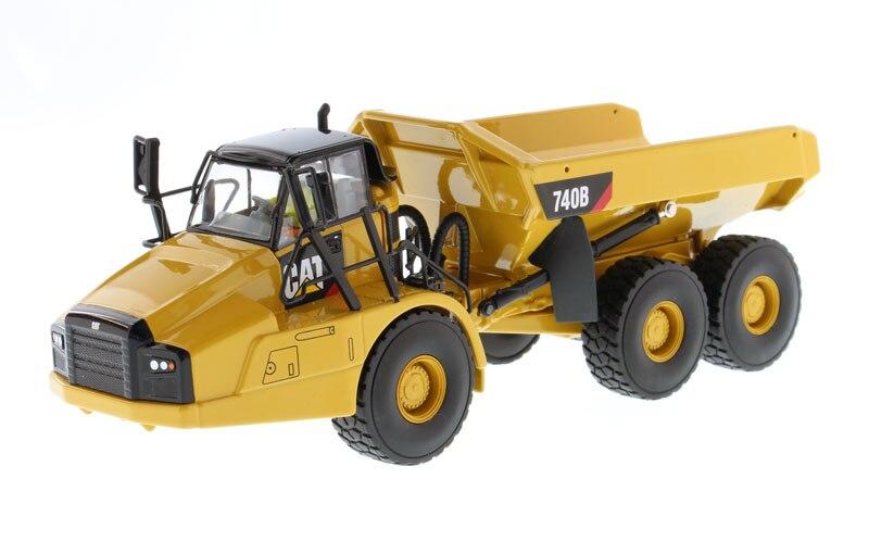dm85501 150 cat 740b articulated haulerdump truck with tipper body toy - Toy Dump Trucks