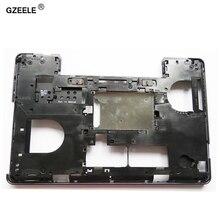 Gzeele dell の緯度 E5540 ボトムベースカバーケース 0KFJ29 小文字黒メインボードボトムケーシング d ケースのラップトップケース
