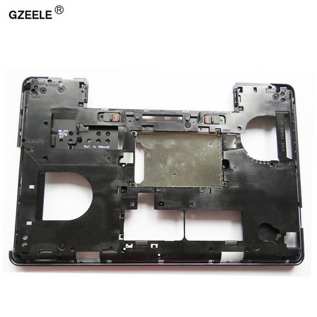Gzeele novo para dell latitude e5540 inferior base capa caso 0kfj29 inferior caso preto mainboard inferior embalagem d caso do portátil