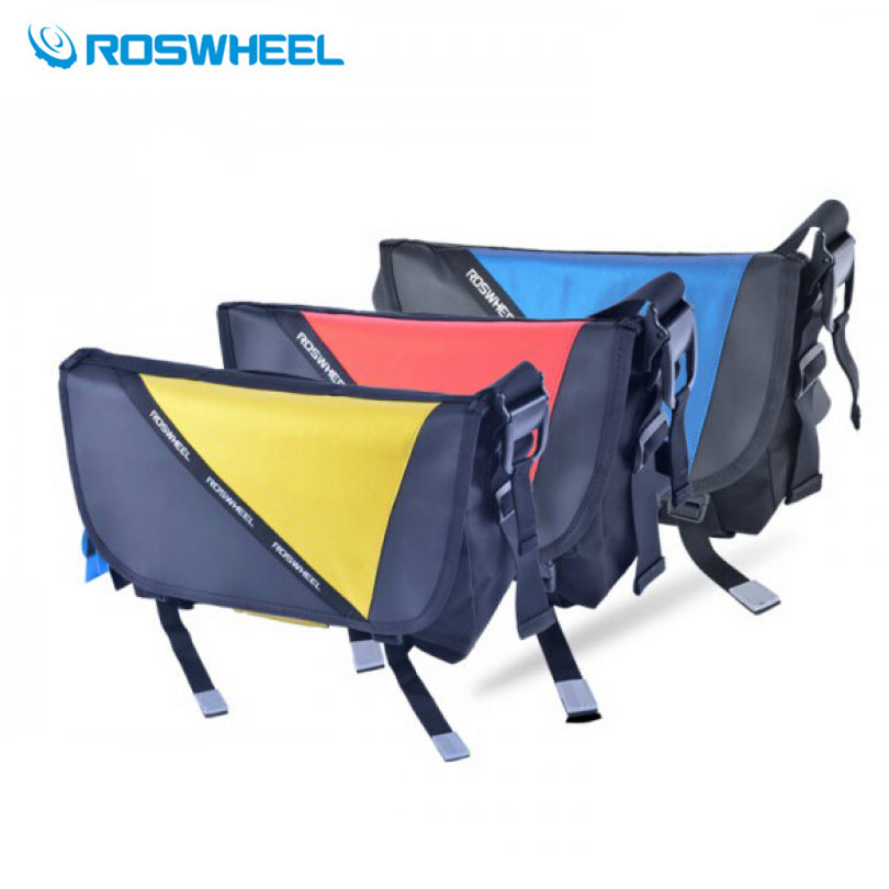 Roswheel Outdoor Bicycle Bike Bag Riding Reflective Messenger Shoulder Bag Breathable Waterproof Cycling Bag bike accessories motorcycle radiator protective cover grill guard grille protector for kawasaki z1000sx ninja 1000 2011 2012 2013 2014 2015 2016