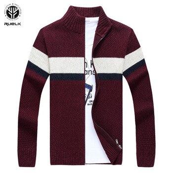 Warm Zipper Pullover Sweaters Man