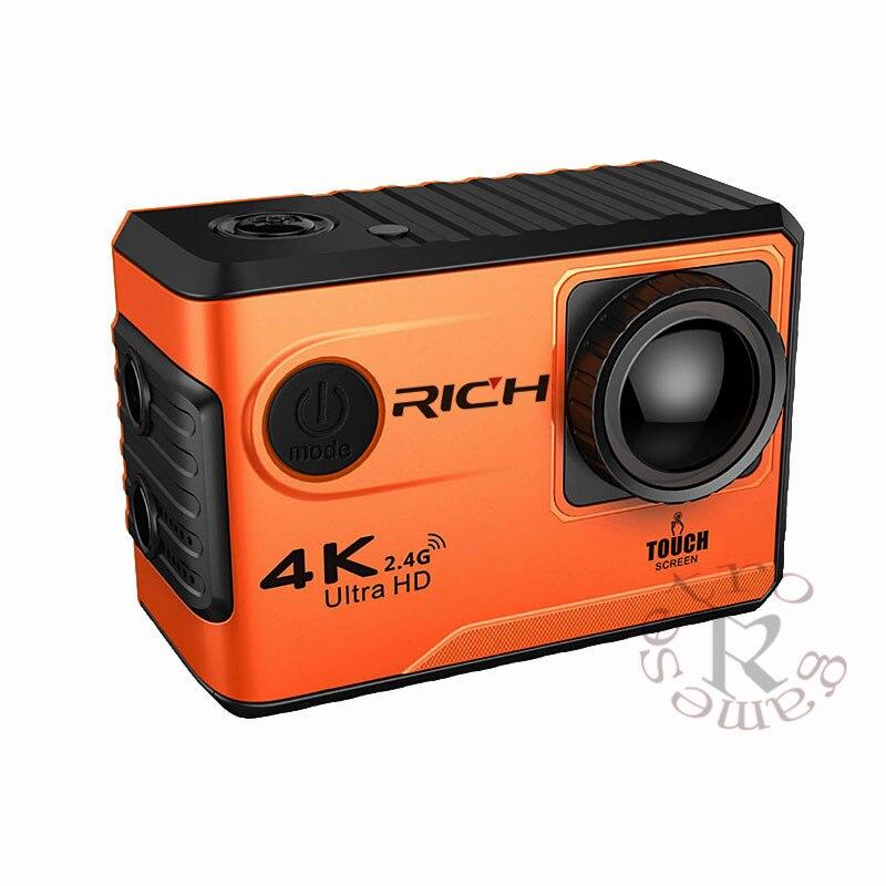 4 Karat/24fps Sport Action Kamera WiF UHD 2