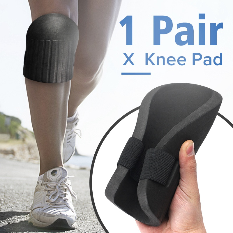 1pair Soft Foam Knee Pads Protectors Cushion Sports Skating Climbing Cycling kneecap Gardening Builder Patella Guard