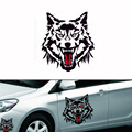 1PCS Wolf Totem Reflective Car Sticker  Paste Spare Scratch Door Stickers Creative Car 3d Sticker Car Styling  Car Decoration