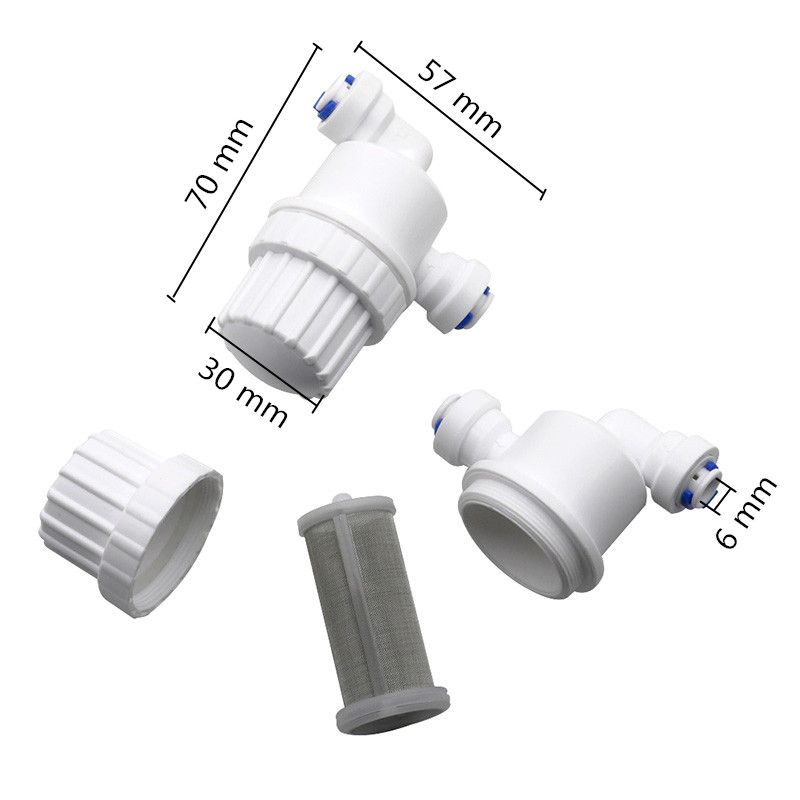 """1Pcs 1/4"""" Garden Water Filter Quick Access Micro-filter Water Purifier Front Stainless Steel Mesh Filters Home Garden Connectors"""