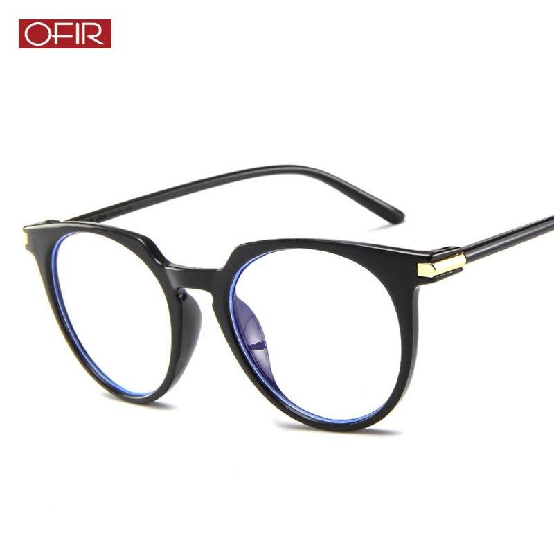 2019 New Optics Glasses Frame Transparent Women Frame Degree Eyeglasses Oversized Cat Eye Glasses Frame Clear Lens Glasses