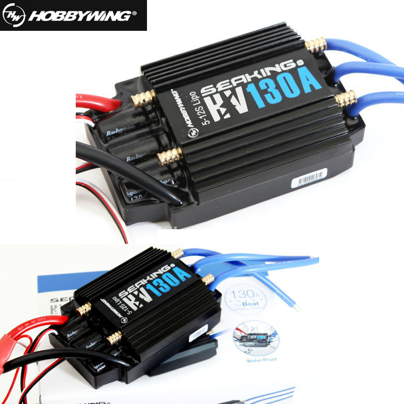 1pc New HobbyWing SeaKing V3 130A BL Motor ESC HV 6V/5A BEC for RC R/c Racing Boat electric speed controller