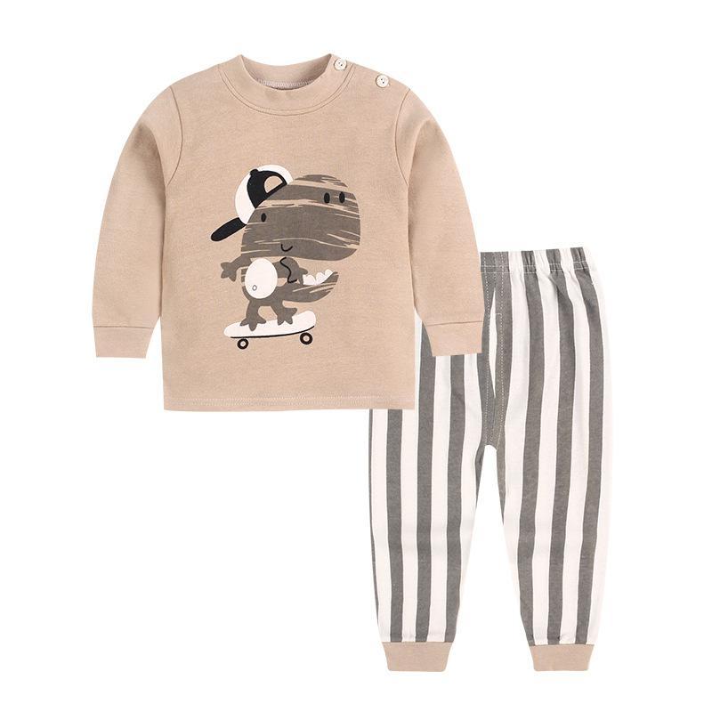 dinosaur cotton pajamas