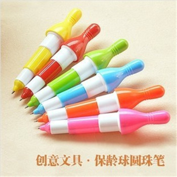 DL D501 creative stationery telescopic bowling pen polychromatic bowling ball pen special cute student supplies image