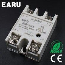 Regulador de resistencia de Base de Metal SSR-40VA, relé de estado sólido de 500 Kohm, SSR-40 VA 40A, buena calidad, gran oferta