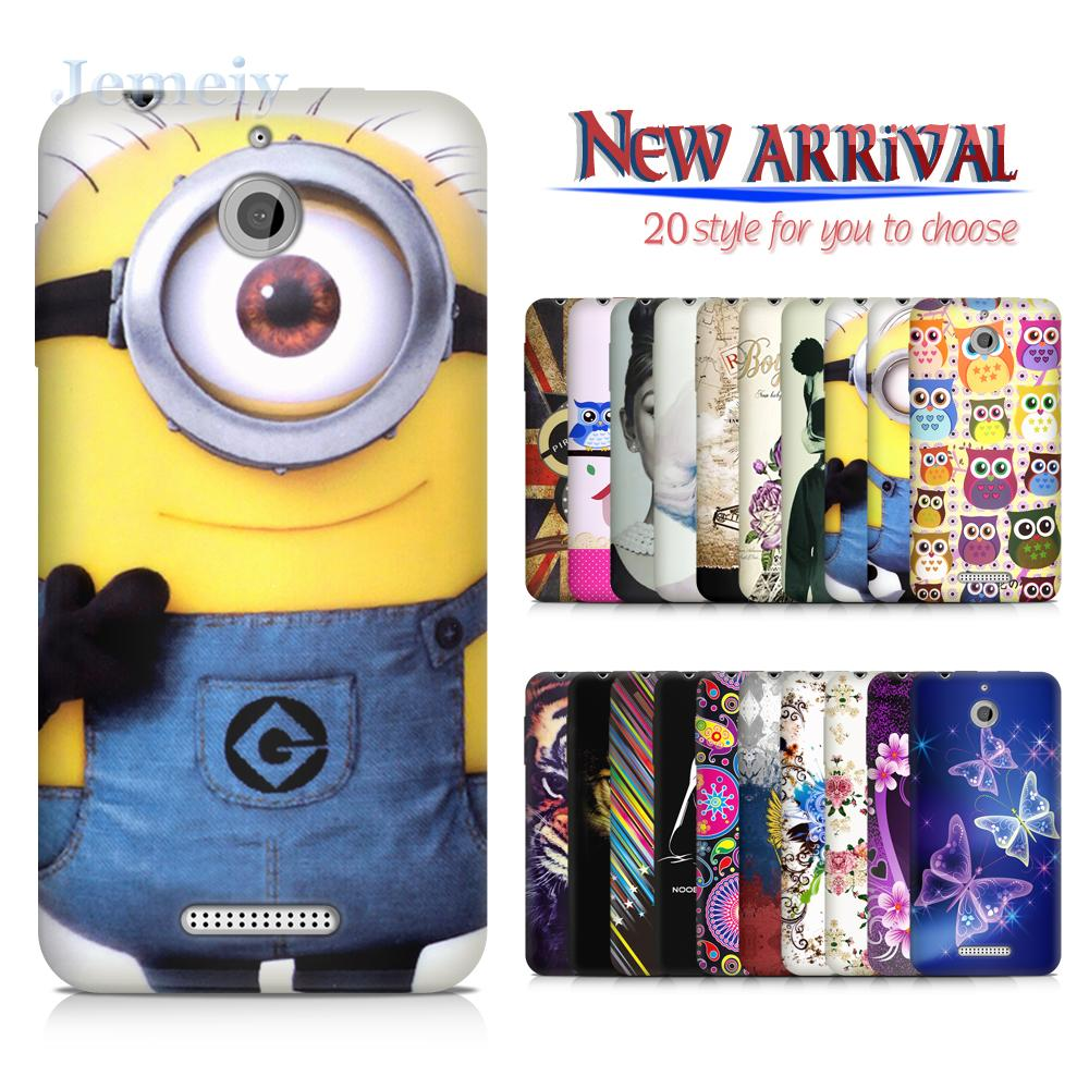 In Stock Hot Design Phone Cases Bags For Htc Desire 510, Minion Print Soft  Silicon