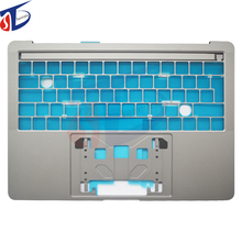 UK Top case Gray For Macbook Pro Retina 13.3″ A1706 UK keyboard cover 2016 2017