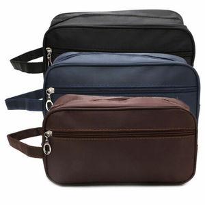 Image 5 - الولايات المتحدة الرجال النساء السفر المحمولة حقيبة مستحضرات تجميل غسل دش منظم ماكياج التجميل