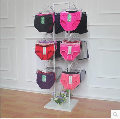Iron art shows bra lingerie black and white high quality underwear in Storage Holders Racks from Home Garden