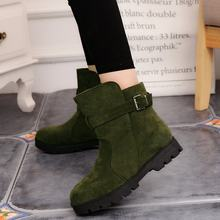 New Boots black Women Boots Low-heeled Ladies Shoes Women Shoes Fashion Casual Shoes Autumn Comfortable Boots(China)