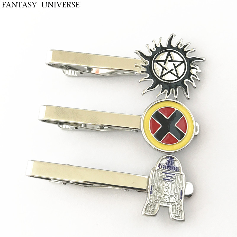 FANTASY UNIVERSE Freeshipping 20pc a lot Supernatural Tie Clip JHNBJHL01