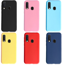Candy Color Case For Samsung Galaxy A20e A20 e s Bumper Coque Cover