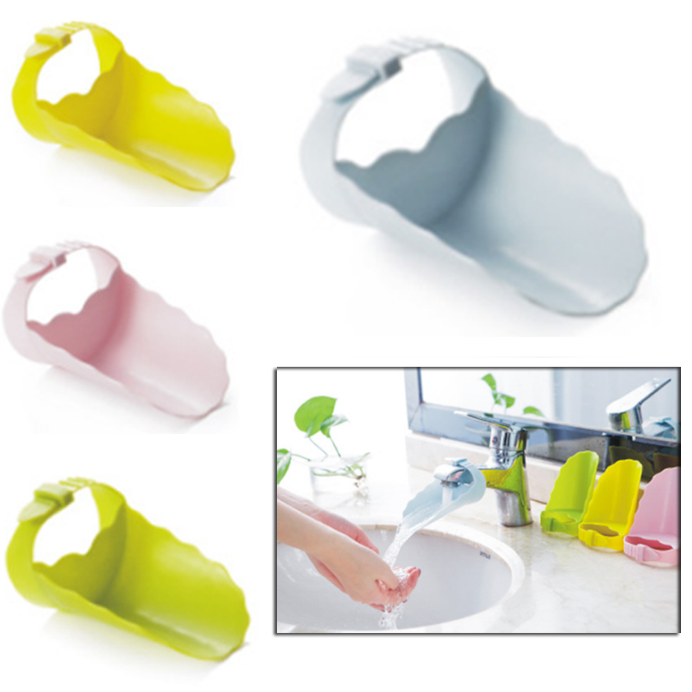 new Durable Kid Toddler Baby Faucet Tap Extender Washing Hands Bathroom Sink Lovely Bathroom Sink Tubs Aid