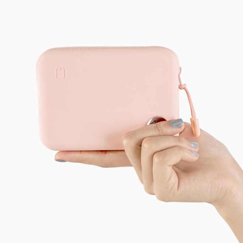 Xiaomi Lưu Trữ Di Động Túi Chìa Khóa/Tiền Xu/Thẻ ID/Không Dây Tai Nghe/Dây Cáp Chống Nước Dễ Thương Kẹo dẻo Silicone Mềm Mại Ốp Lưng