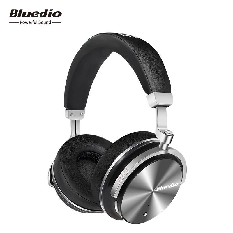 2018-Tempo limitato Offerta Speciale Bluedio T4S Attivo Con Cancellazione del Rumore Cuffie Senza Fili di Bluetooth Auricolare senza fili con Il Mic
