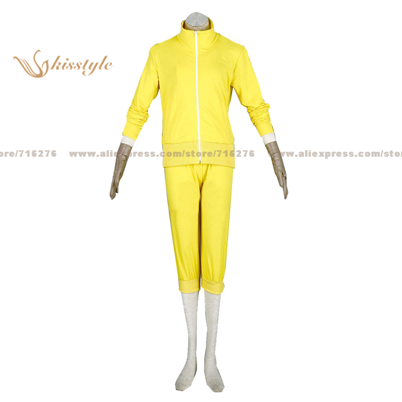 Kisstyle Fashion VOCALOID Kagamine Rin 7G Russian Dolls Sport Uniform COS Clothing Cosplay Costume,Customized Accepted