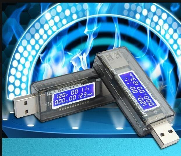 Carregador de Tensão Atual Tester Carregador USB