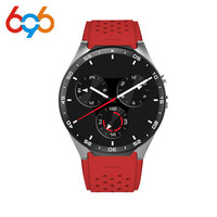 Hot Sale KW88 Smart watch Android 5.1 MTK6580 CPU 1.39 inch 3G Wifi Smartwatch for Samsung Huawei Phone Watch PK GT88 KW