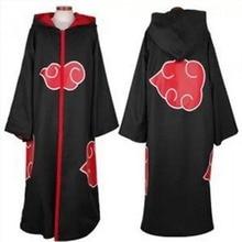 Akatsuki Cosplay Costumes Women Outfit Uniform Anime Naruto Cloak Uchiha Itachi