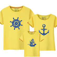 Summer Family Matching Anchor T Shirts