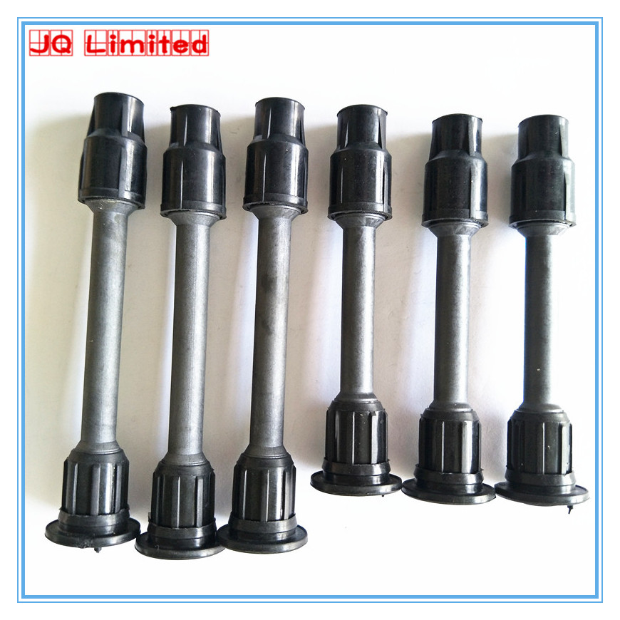 Ignition coil rubber stick 6pcs for Nissan Maxima Cefiro Infiniti VQ25 VQ20 VQ30 PA32 A32 A33 Q30 22448-31U01 22448-31U06