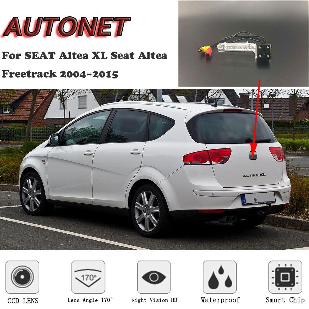 AUTONET HD Gece Görüş Arka Görüş kamerası KOLTUK Altea XL Için Koltuk Altea Freetrack 2004 ~ 2015/CCD/ geri görüş kamerası/plaka kamera