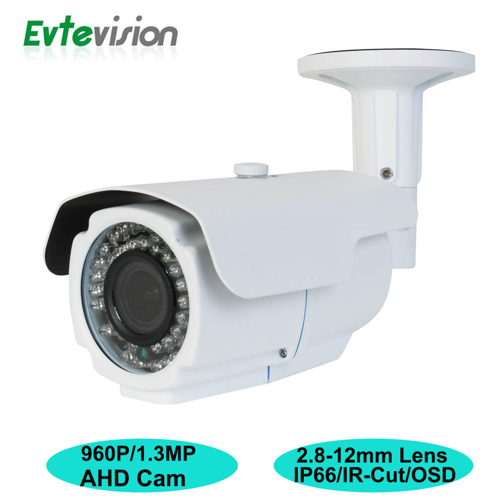 CCTV Camera 960P/1.3MP Outdoor Waterproof Bullet Video Camera 4 in 1TVI/AHD/CVI/CVBS With 42 PCS IR LED 40M IR Range AHD Camera ccdcam 4in1 ahd cvi tvi cvbs 2mp bullet cctv ptz camera 1080p 4x 10x optical zoom outdoor weatherproof night vision ir 30m