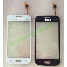 For Samsung Galaxy Star Advance SM-G350E Original Tested Touch screen Panel + Front Glass  Touch Panel White/black