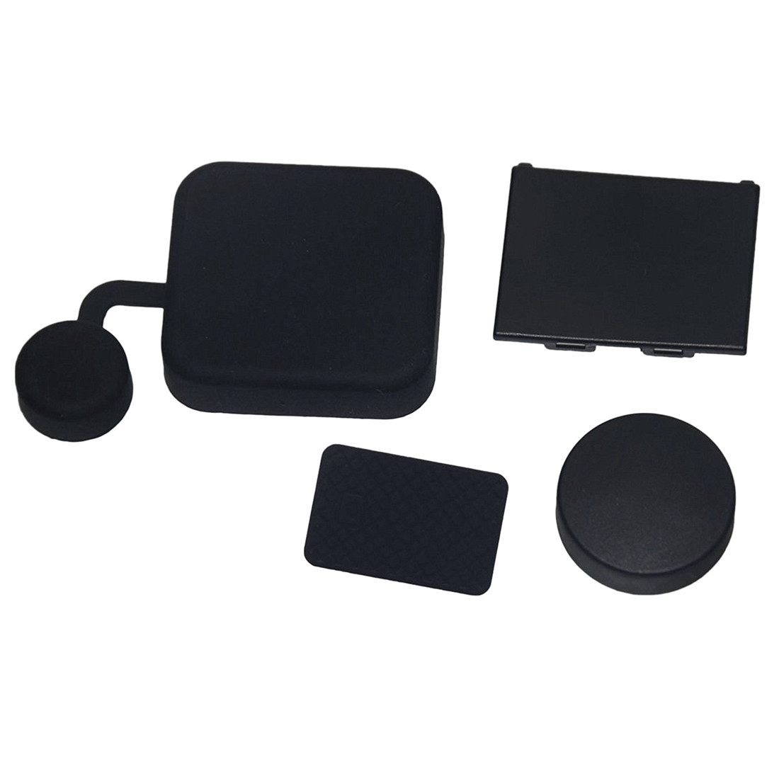Image 5 - 4 In 1 Housing Lens Cover+Lens Cap +Replacement Battery Door+Side Door Cover for GoPro Hero 4/3+ Camera-in Sports Camcorder Cases from Consumer Electronics