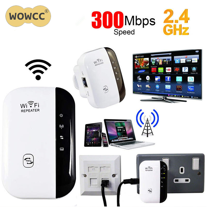 WiFi Blast Wireless Wi-Fi Repeater Range Extender 300Mbps WifiBlast Amplifier US