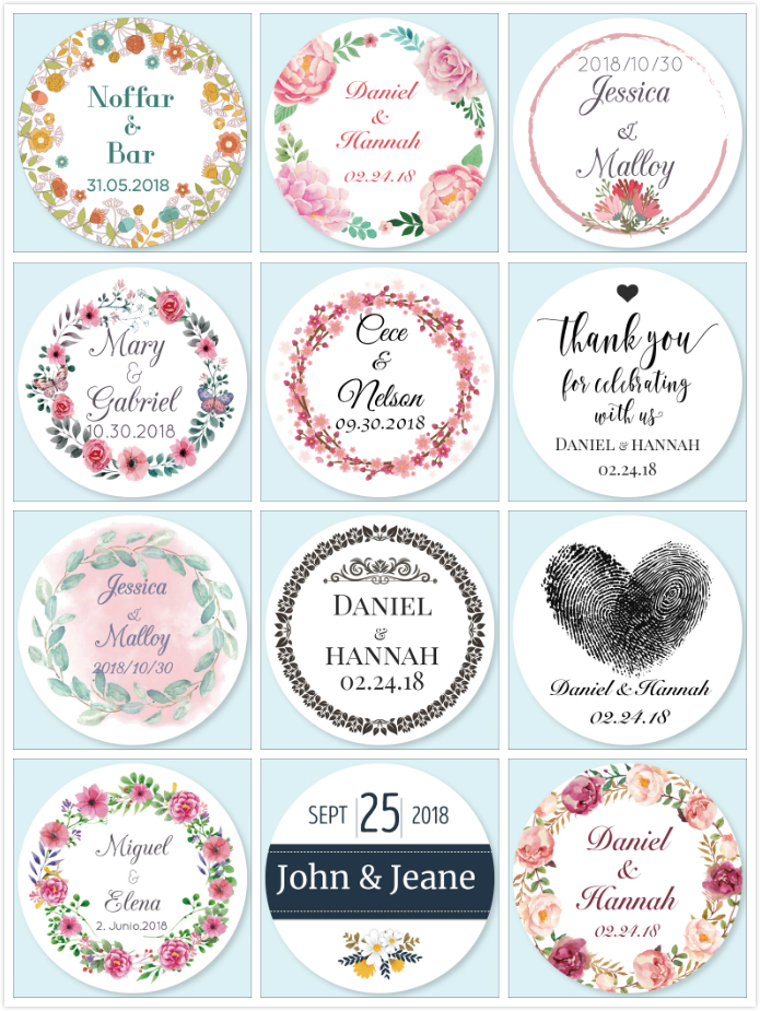 42 Personalised Baby Shower It/'s a Girl Party Stickers Thank you Labels Seals