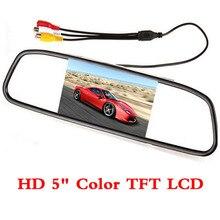 5 inch car monitor car screen lcd tft of 800 x 480 hd Digital Color Car Rear View Monitor Support VCD / DVD / GPS / camera