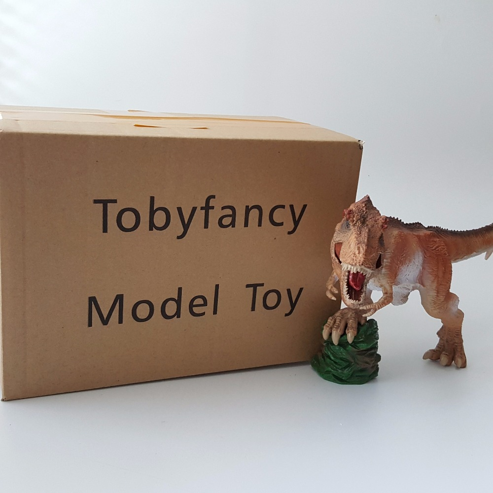 Dinosaur action figure toy Tyrannosaurus Rex pvc 20cm long Dinosaur model toys big one simulation animal toy model dinosaur tyrannosaurus rex model scene